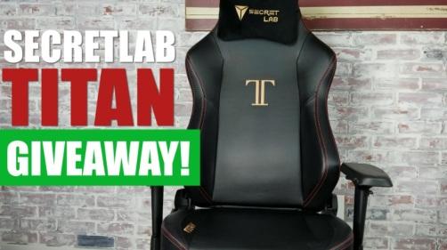 TechGuided Secretlab Titan Giveaway